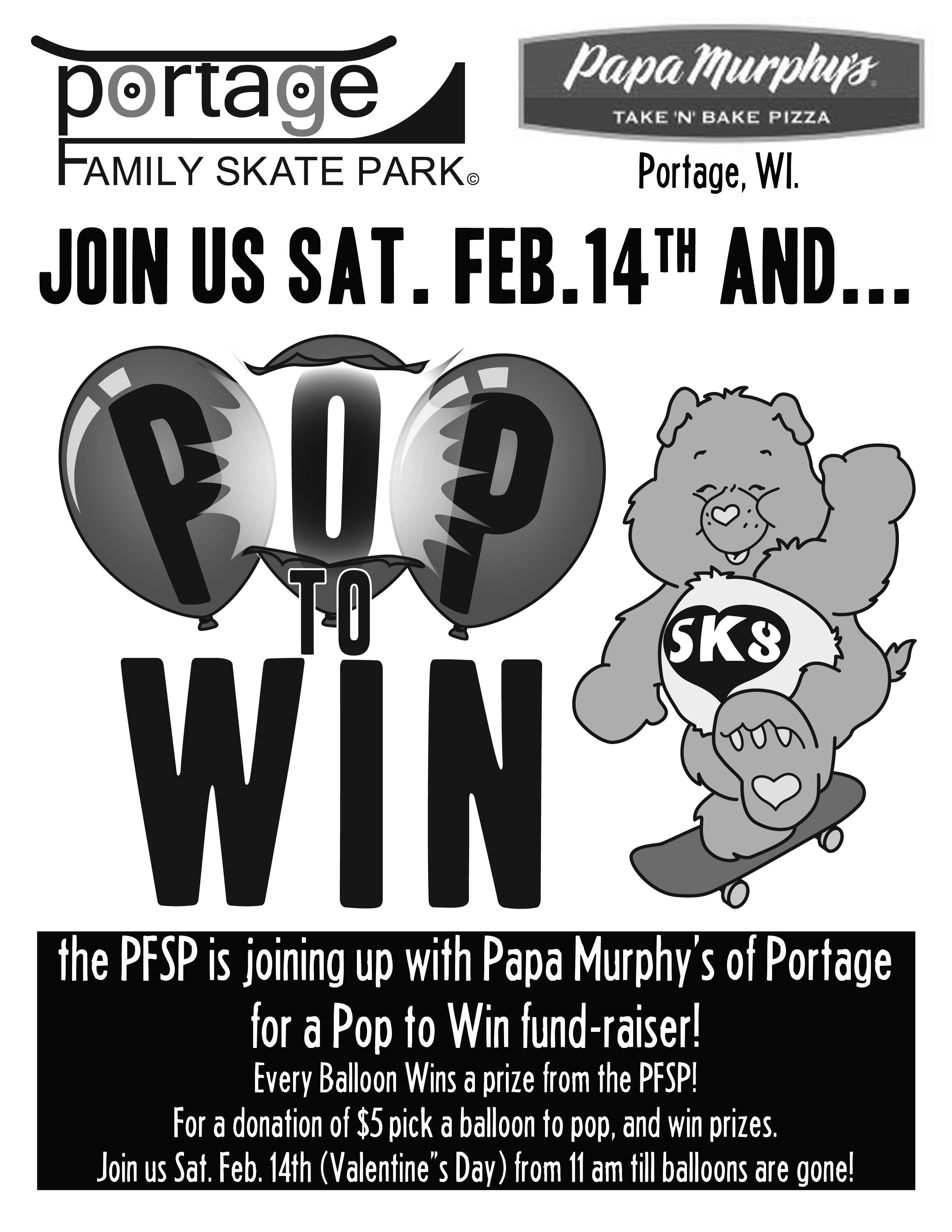 2nd Annual Pop to win Event!!