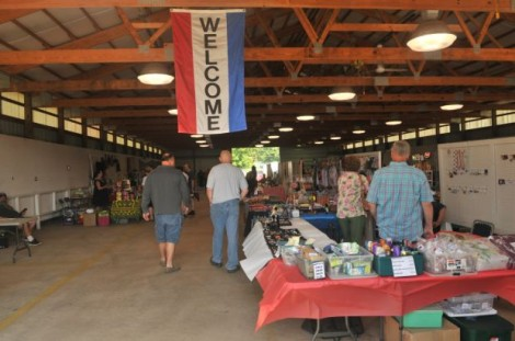 Citywide Flea market days at the Columbia county fairgrounds Portage, Wisconsin for 2017. June 3rd and Sept 9th* from 9-3 pm. Come have a brat or hot-dog with us while looking for that diamond in the ruff.