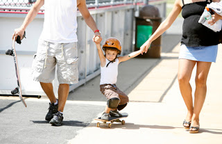 Is my (grand)child old enough to skateboard?
