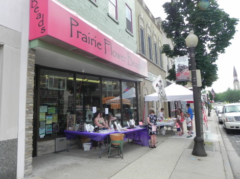 Prairie Flower Beads Portage & the Portage Family Skate Park celebrate 4 years with sweets and deals.