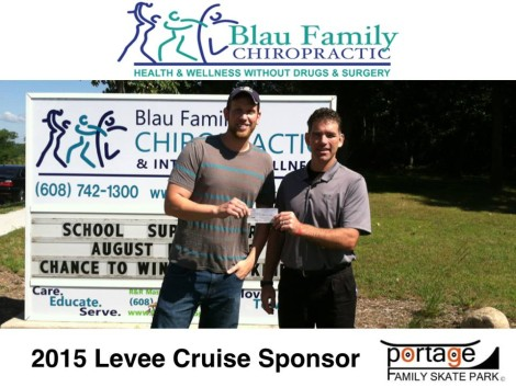 Blau Family Chiropractic & Integrated Wellness $75.00 sponsor.