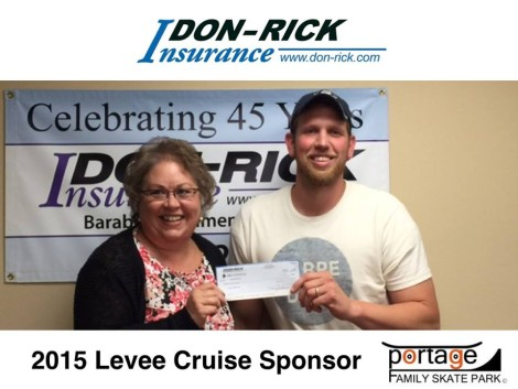 Don-Rick Insurance $75.00 sponsor.