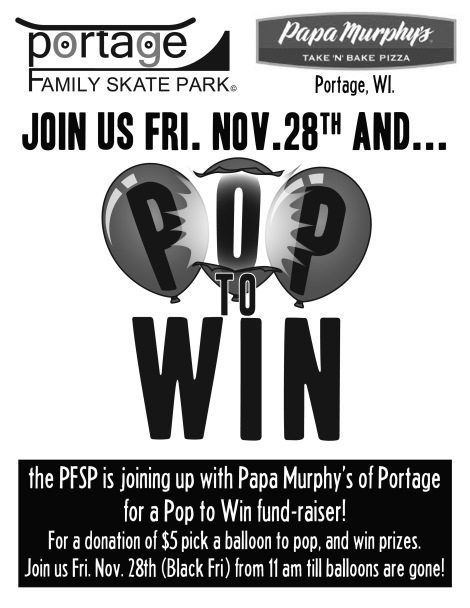 Pop to win Flier