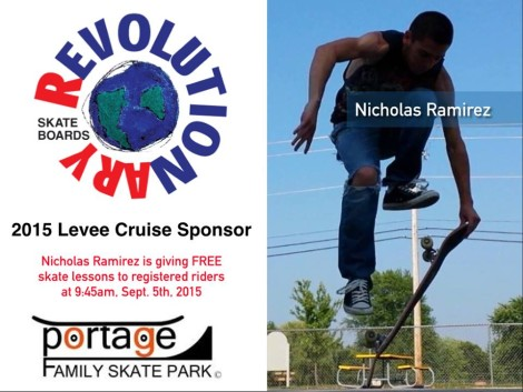 Revolutionary Skateboards $100 sponsor.