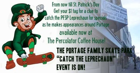 Percolator Coffee House www.portagepercolator.com 224 W Wisconsin St, Portage, WI 53901 (608) 742-7372