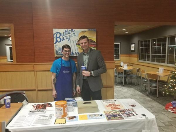 Culver's share night end of the year event.