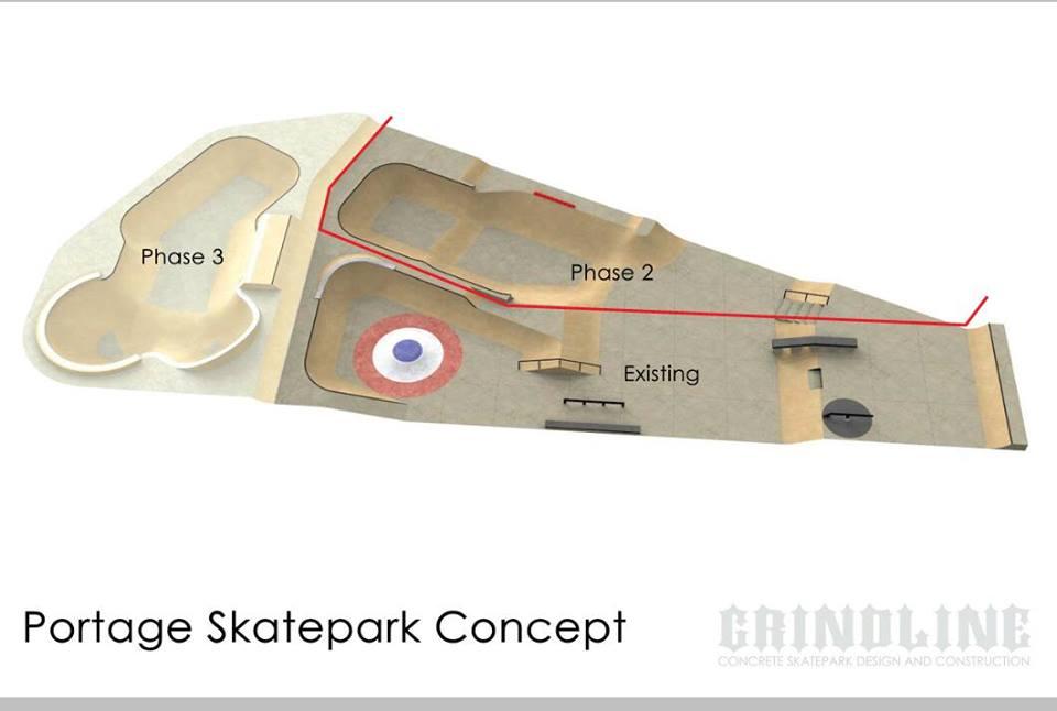 Portage Family Skate Park